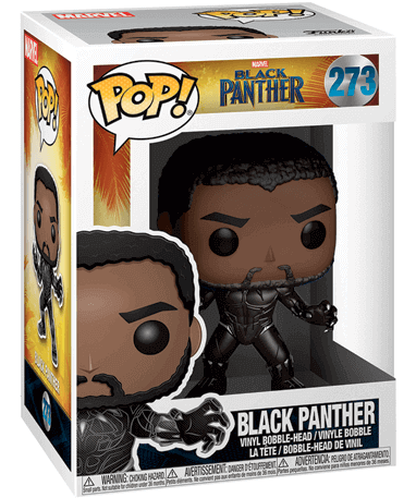 Black Panther figur - Funko pop 2018 i kasse