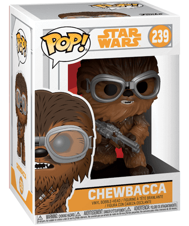 Chewbacca figur - Star Wars - Funko pop - I kasse