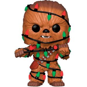 Chewbacca figur med julekostume på - Star Wars