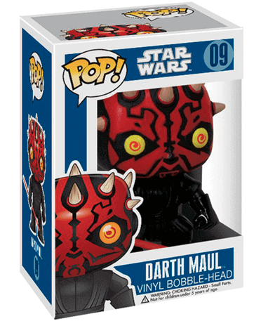 Darth Maul figur - Star Wars - Funko pop - I kasse