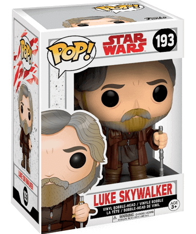 Luke skywalker figur - Star Wars - Funko Pop - I kasse