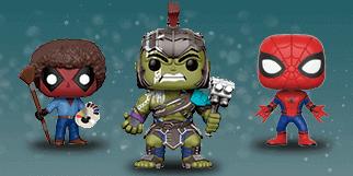 Marvel figurer - merchandise