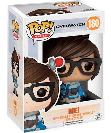 Mei figur - Overwatch - Funko Pop - I kasse