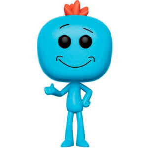 Mr. Meeseeks figur - Rick And Morty - Funko Pop