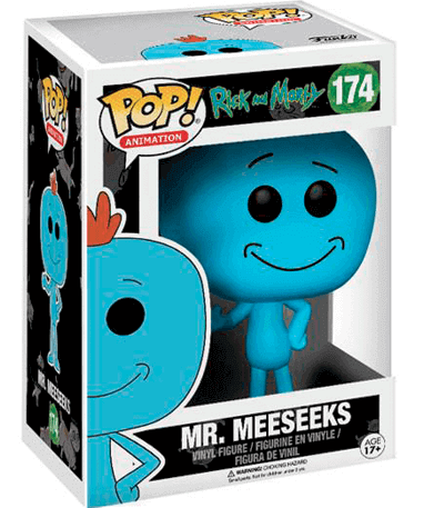 Mr. Meeseeks figur - Rick And Morty - Funko Pop - I kasse