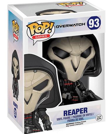 Reaper Figur - Overwatch - Funko Pop - I kasse