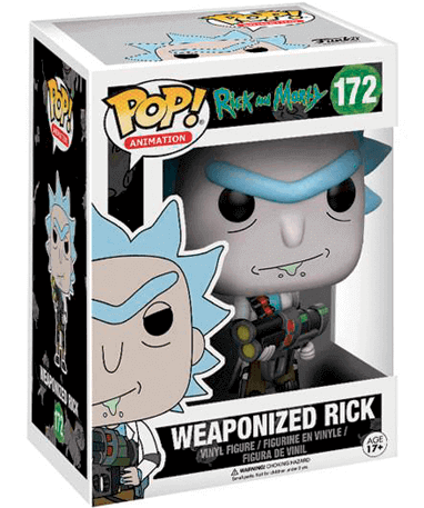 Rick figur - Rick and Morty - Funko pop - i kasse