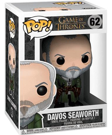 Ser Davos Seaworth figur - Game Of Thrones - Funko Pop - i kasse