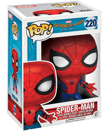 Spiderman figur - homecomming i kasse