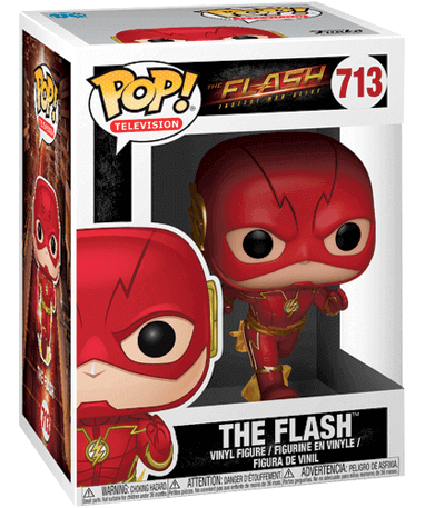 The flash Funko Pop figur - The Flash TV - i kasse