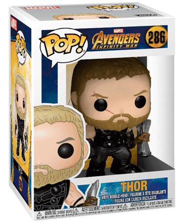 Thor Figur - Avengers infinity war i kasse
