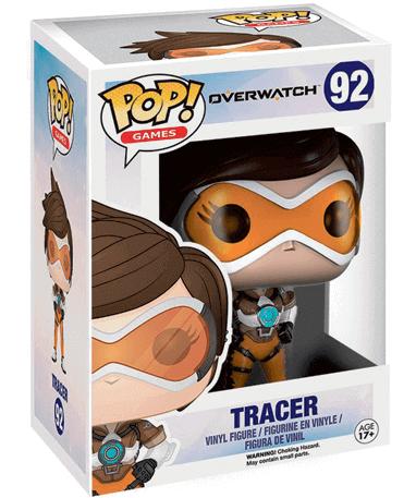 Tracer figur - Overwatch - Funko Pop - I kasse