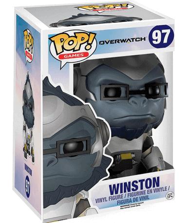 Winston figur - Overwatch - Funko Pop - I kasse