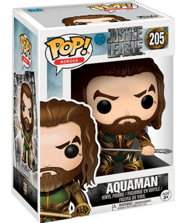 Aquaman figur - Jusutice League - Funko Pop - i kasse