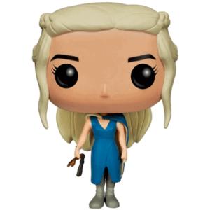 Daenerys Targarian figur blå kjole - Game Of Thrones - Funko Pop