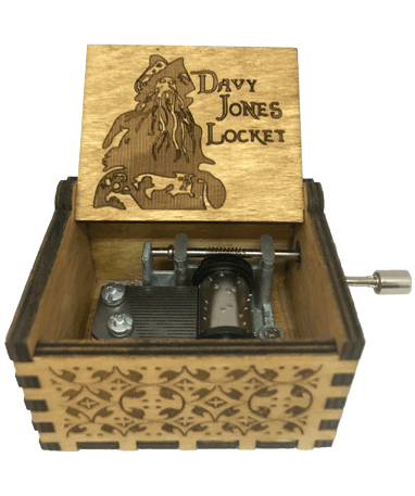 Davy Jones Locket spilledåse - Pirates Of Caribbean