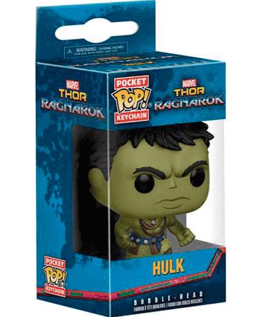 Hulk nøglering - Thor Ragnarok - Funko Pop - I kasse