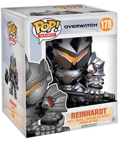 Reinhardt figur 15 cm - Overwatch - Funko Pop i kasse