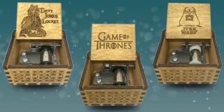 Spilledåser fra populære franchises