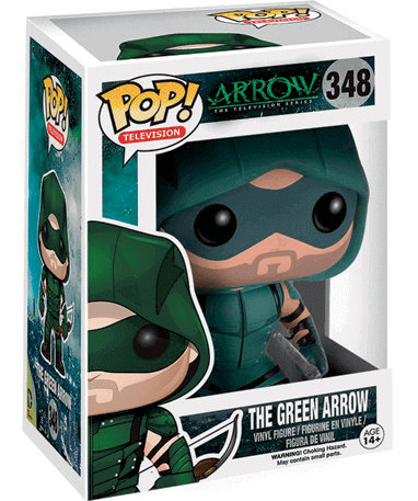 The Green Arrow figur - Tv Arrow - Funko Pop - i kasse