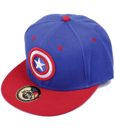 Captain america cap-kasket - Marvel - højre