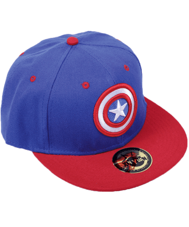 Captain america cap-kasket - Marvel - venstre side