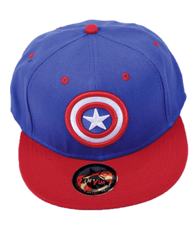 Image of   Captain america cap/kasket - Marvel