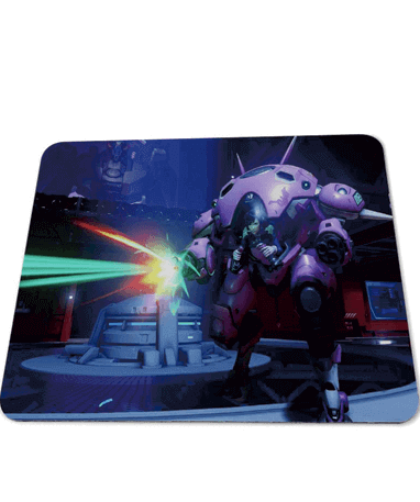 D.Va gamer musemåtte – Overwatch - 25x29cm