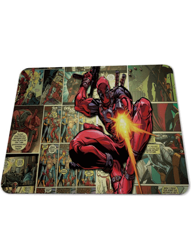 Deadpool gamer musemåtte - Marvel comic - 25x29cm