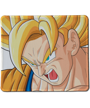 Goku super saiyan musemåtte - Dragon Ball Z - 20x25cm