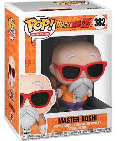 Master Roshi figur - Dragonball Super z - Funko pop - i kasse
