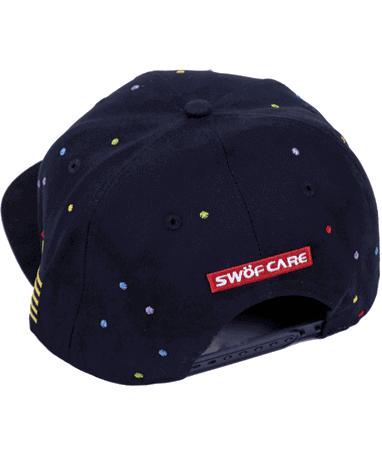 Pac-man cap-kasket bagfra