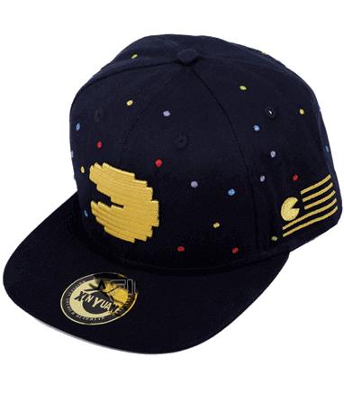 Pac-man cap-kasket fra højre