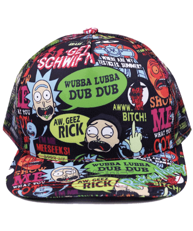 Rick And Morty cap-kasket