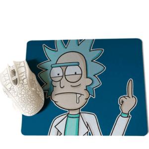 Rick F U gamer musemåtte - Rick & Morty - 25x29cm