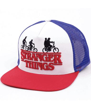 Stranger things cap-kasket - højre
