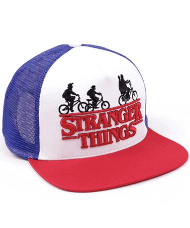 Stranger things cap-kasket venstre