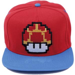 Super Mario mushroom cap-kasket