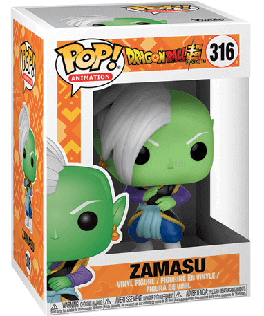 Zamasu figur - Dragon ball super - Funko Pop - i kasse