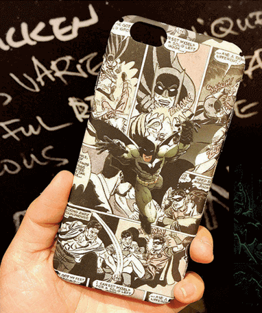 Image of   Batman iPhone cover - Dc comics