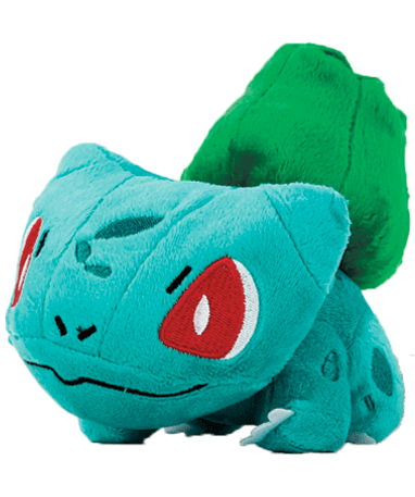 Image of Bulbasaur bamse - Pokemon - 14cm