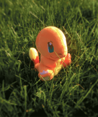 Charmander bamse - pokemon