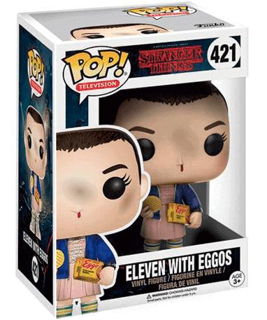 Eleven figur - Stranger Things - Funko Pop - i kasse