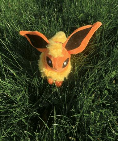 Flareon bamse - pokemon