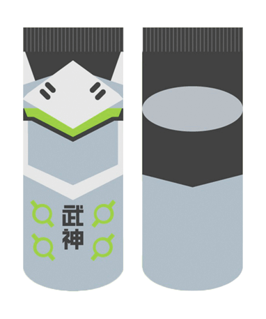 Genji ankelsokker - Overwatch