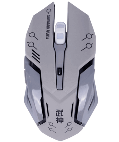 Genji gamer mus - Overwatch - slukket