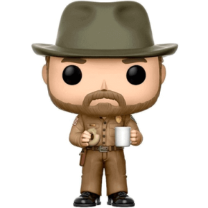 Hopper med donut - Stranger Things - Funko Pop