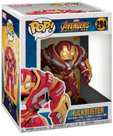 Hulkbuster figur - Avengers Infinity War - Funko Pop - i kasse