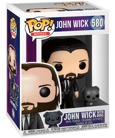 John Wick med hund Funko Pop figur