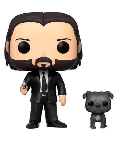 John Wick with dog Funko Pop figur